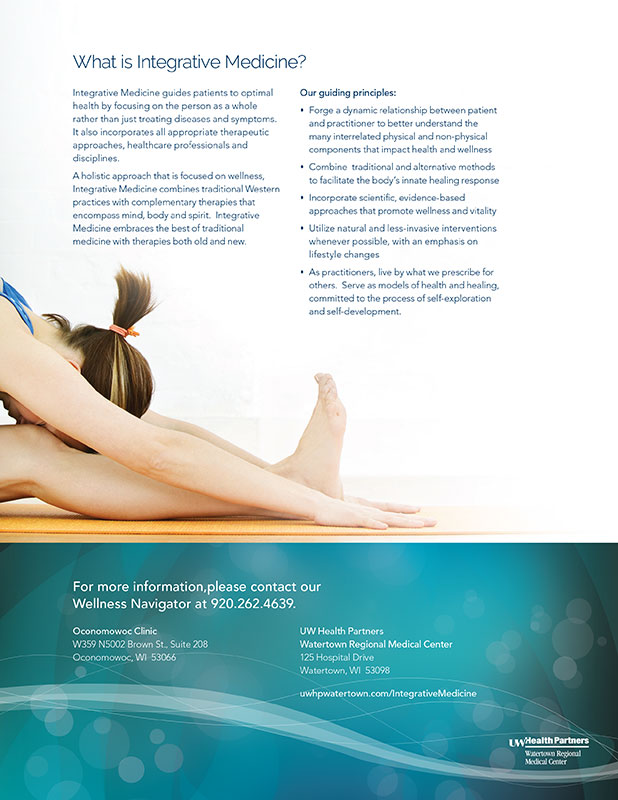 Integrative Medicine flyer
