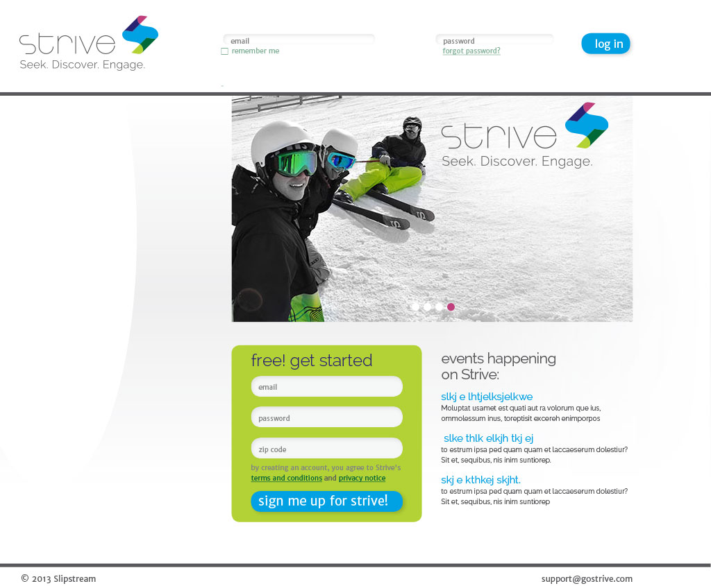 strive website