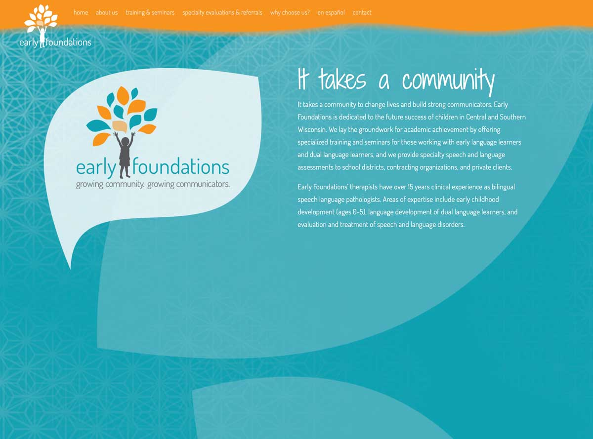 Early Foundations website