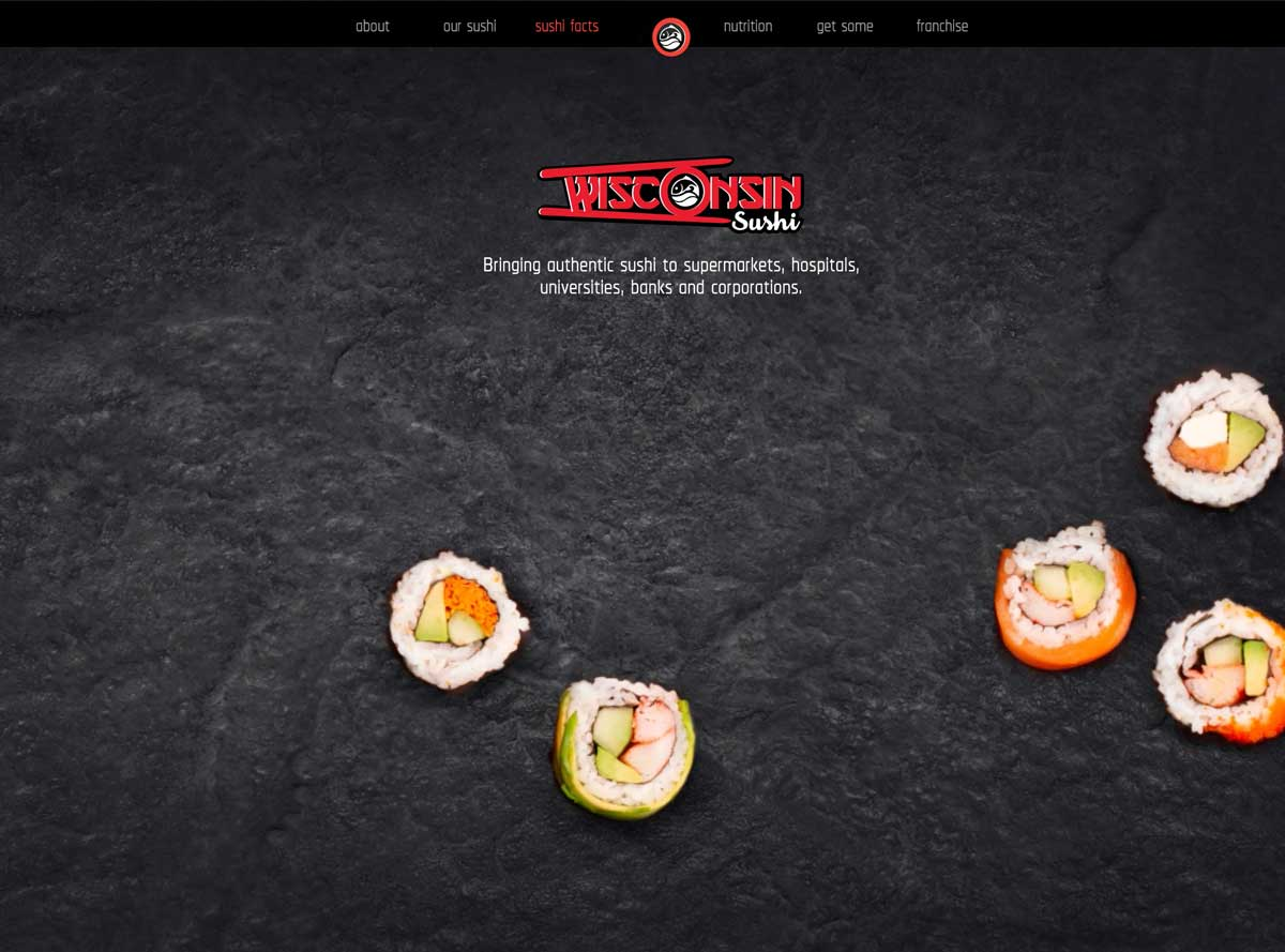 Wisconsin Sushi Website